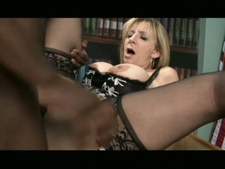 Sara jay loves big black cocks in her sweet white pussy