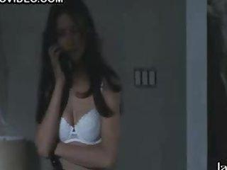 Sexy Nina Garbiras in Hot White Underware