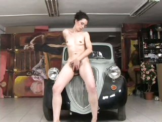 Hirsute Wench Receives Her Cunt Drilled Hard and Her Bush Jizzed