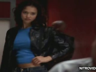 Hottest Latina Babe Jessica Alba Looking Sexy - 'Dark Angel' Episode