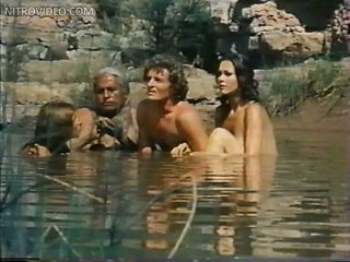 Foxy Belinda Balaski and Lynda Carter Swimming Topless in a Hawt Scene