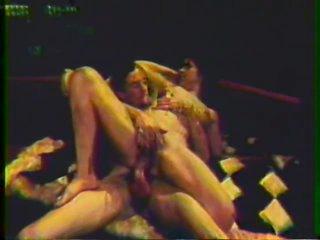 John Holmes Fucks Sally Peeper's Hairy Pussy - Vintage Porn