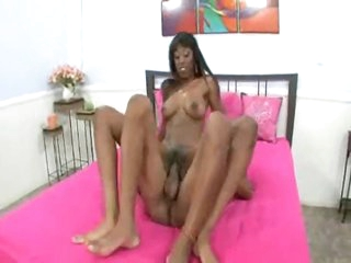 Dark girl with long hard meat inside her