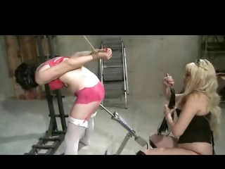 Sissy Lad Spanked And Machined In The Ass