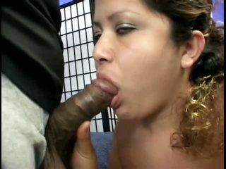 Black Meat For Corpulent Pregnant Latina