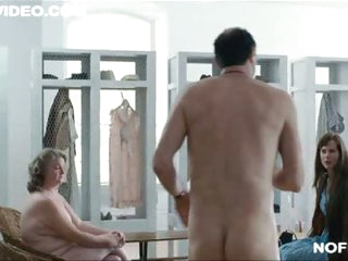 BBW Mature Blond Marceline Hugot Shows It All In a 'Fur' Scene