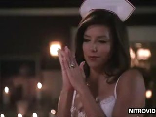Eva Longoria Can't Be Sexier with that Nurse Outfit