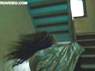 Really Sexy Ebony Babe Flashes Her Boobs - 'Any Given Sunday' Scene