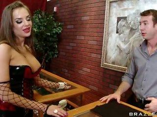 Underware Wearing Slut Loves to Deep Throat Large Cocks