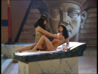 Brunettes Jessica May and Julia Taylor Fucked In Egyptian 3some