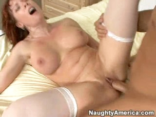 Wicked milf Brittany Oconnell is reamed hard and then overspread in cum.