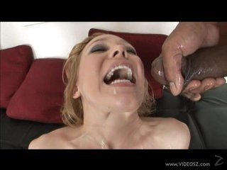 Impure Liv Wylder gets showered in warm nut juice