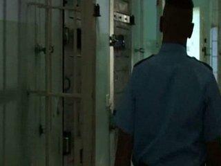 German prison sex scene from movie `LOCKED UP`.
