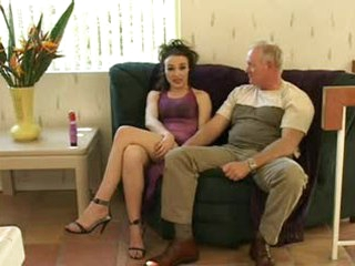 Old guy filmed fucking a hot youthful thing