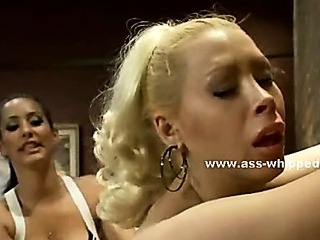 Lesbian bitches with biggest milk cans fucking in extreme lezdom sex spanking and fucking with strapon