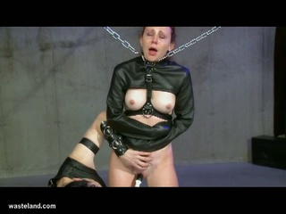 Redhead enslaved and tortured