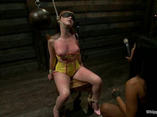 Isis Love subjects Marie McCray to some sexy punishment
