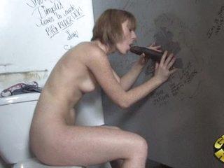 Rampant Allison Wyte slurps on this tasty fuck stick