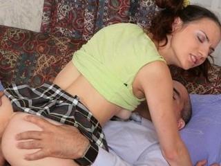 Kinky teacher seduces his lovely student