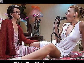 Lily M&Aubrey aged lesbo movie