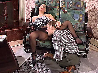 Laura&Mike videotaped during the time that pantyhosing