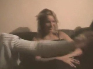 Home porn video made at a wild sex party