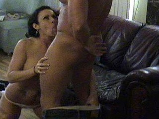 Slut hooks up with meat head for cheap sex.