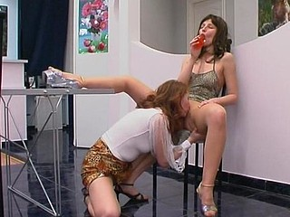 Irene&Antoinette kinky hose movie
