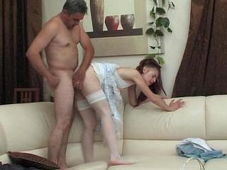 Afina&Frank oldman and juvenile lady