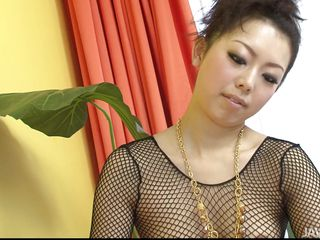 pov feetjob and handjob from sexy japanese milf