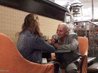old geezer gets a hot date with jaden