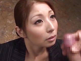 sperm trickles on her innocent face
