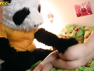 wake up call from the panda bear