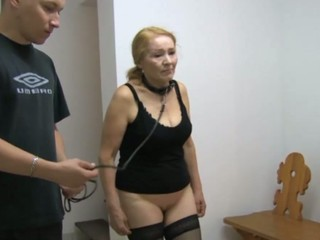 Granny like S&M practices and fucked hard