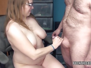 Fat mother I'd like to fuck Alex### Pleasant takes some wang in her gazoo