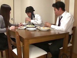 Asuka in Asian wife, Asuka is fucking her husband's friend - AviDolz