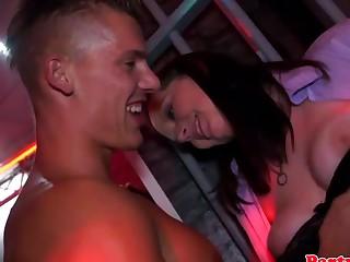 Real euro amateur party sluts enjoy cock