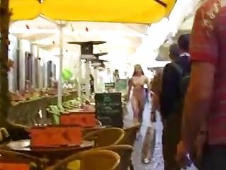 July - Sweet German Babe Nude In Public