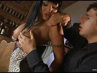 Busty Pornstar Angelica Heart Fucks A Large Cock Until Cum Fills Her Face