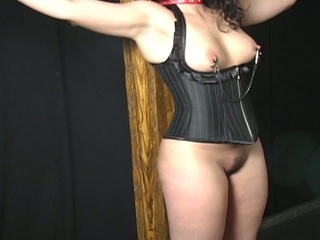 Bulky lalin girl cutie in a thraldom audition