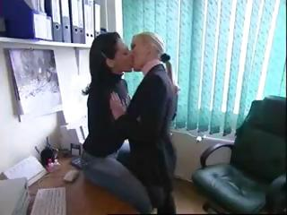 Various hot clips of sexy lesbians honeys in sensual kissing